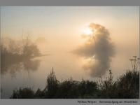 Wilfried Meyer: Sonnenaufgang am Altmühlsee